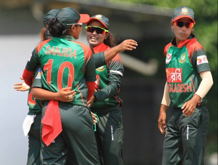 Bangladesh Women team clinch series against Ireland