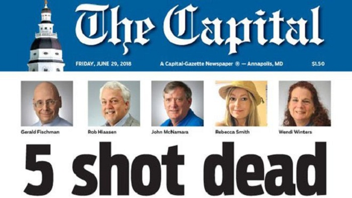 Capital Gazette shooting: Staff publish Friday edition