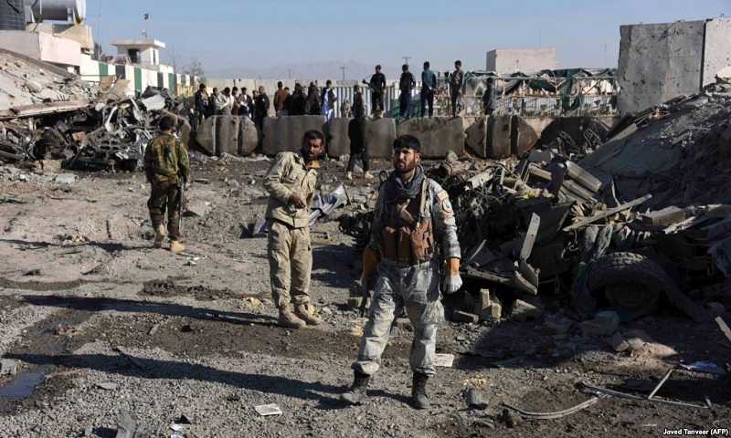 Afghan officials: Taliban kill police commander in Kabul