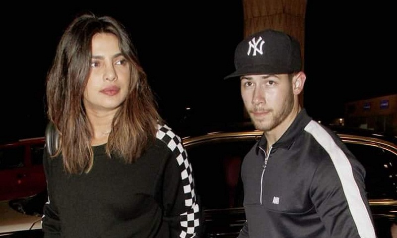 Priyanka Chopra, Nick Jonas leaves India after week-long holiday
