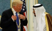Trump says Saudi king agrees to ramp up oil production