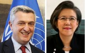 UNHCR chief, UN Special Rapporteur in city