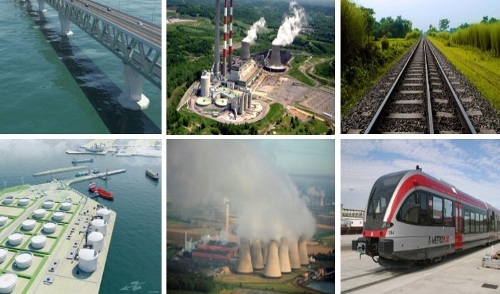 Mega projects propel foreign fund release