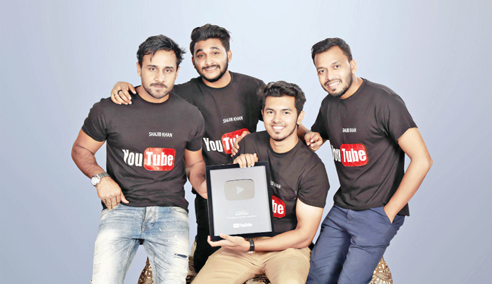 YouTuber Shajib Khan and other members
