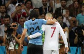 Uruguay head coach says no information on how serious Cavani's injury is