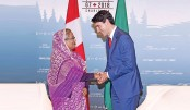 Prime minister at G-7 outreach leaders' meeting in Canada