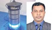 Bangladeshi invents green mosquito-killing device