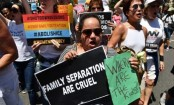 #Familiesbelongtogether: Thousands protest over migrant separations