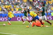 Brazil enter WC quarter-finals beating Mexico 2-0