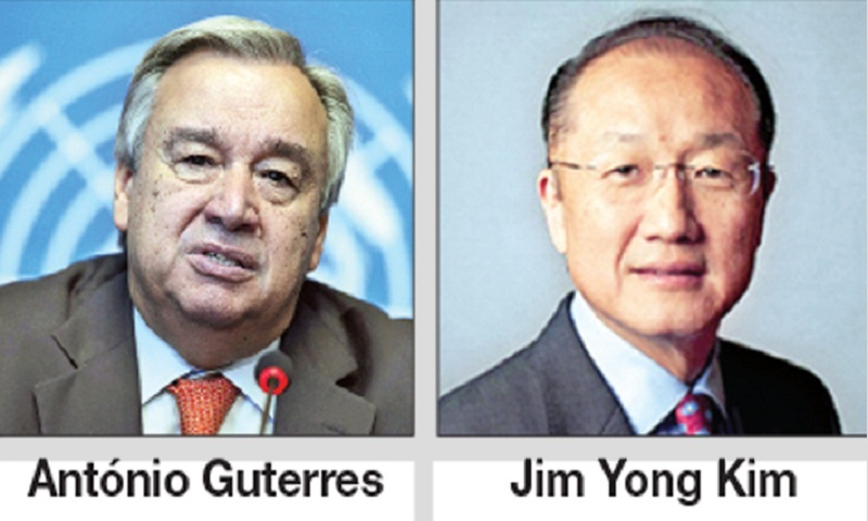 UN chief, WB President leaves Dhaka after 3-day visit