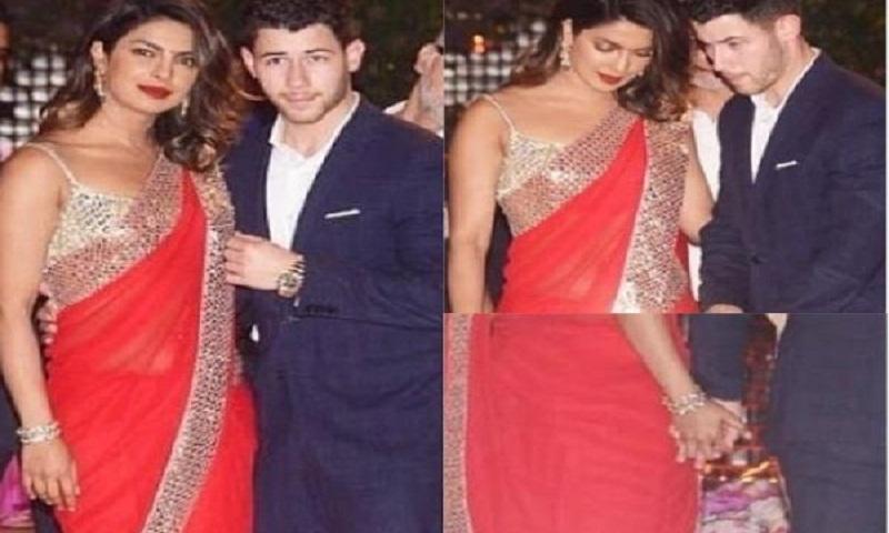 Nick Jonas meets Priyanka Chopra's mother at the Ambani bash
