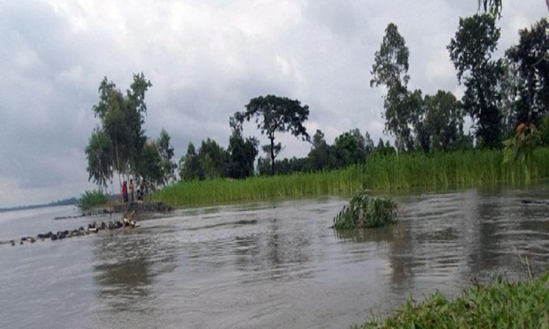 Surma crosses danger level, flood feared