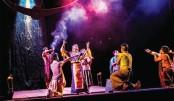 Drishtipat stages Raja Himadri at Shilpakala Academy