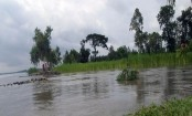 Surma crosses danger level, flood feared