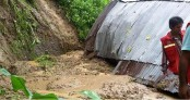 Woman killed in Bandarban landslide