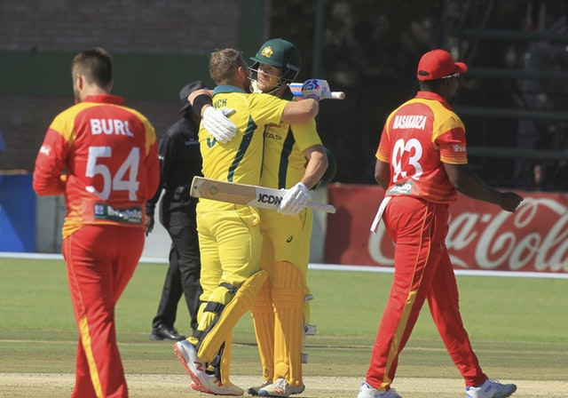 Finch revels in record as Australia smash Zimbabwe