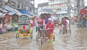 Water-logging causes sufferings to residents in Ctg