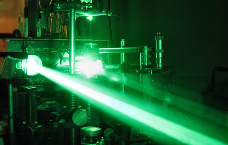China firm develops 'laser gun'