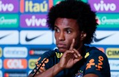 Willian warns Hazard as Chelsea teammates prepare to clash at World Cup