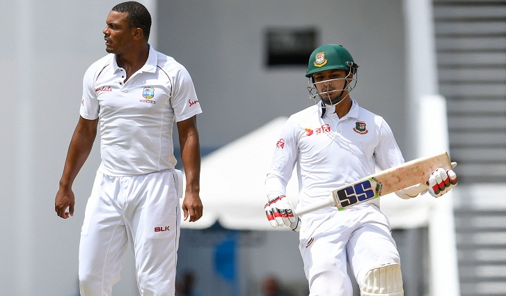 West Indies beat Bangladesh by an innings and 219 runs