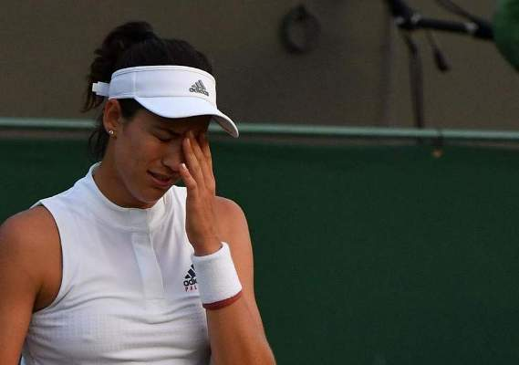 Defending Wimbledon champion Garbine Muguruza knocked out at second round