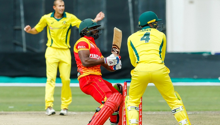 Mire's 50 helps Zimbabwe reach 151 against Australia in T20