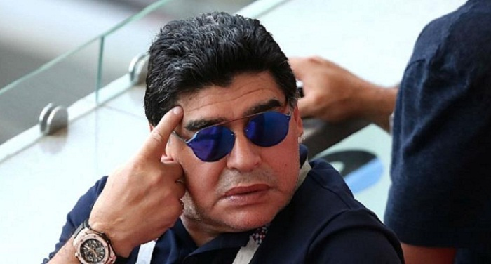 Maradona apologises for saying England committed 'robbery'