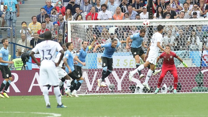 France enter into WC semi final beating Uruguay