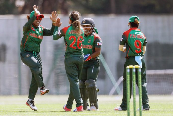 Women's WT20Q: Bangladesh restrict PNG on 84/6