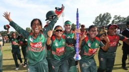 Women's WT20QLF: Bangladesh crush PNG by 8 wkts
