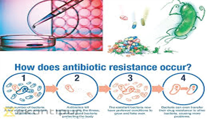 Arbitrary use of antibiotic creates resistant bacteria