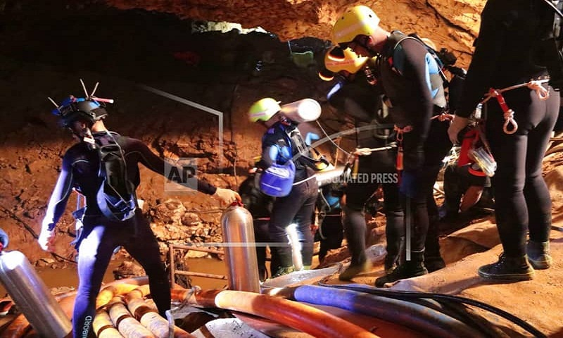 Thai cave rescue could take 2-4 days