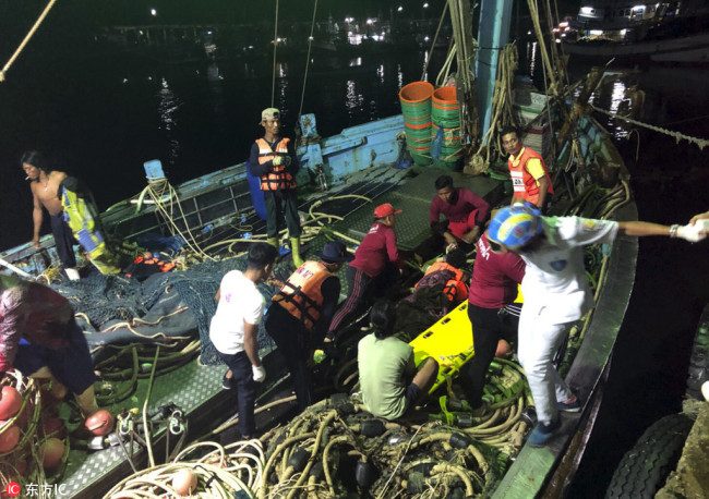 42 dead, 5 missing after boats capsize in southern Thailand: Governor