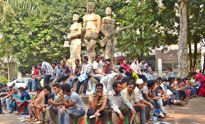 Dhaka University restricts movement of outsiders on campus