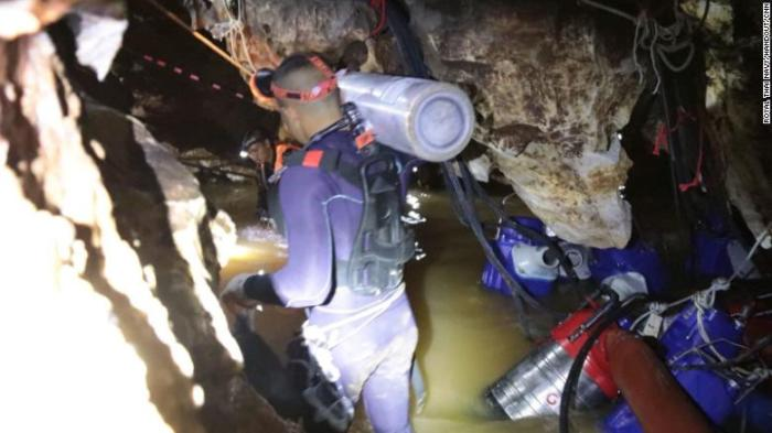 Four more boys rescued from cave
