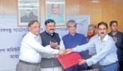 First contract on Bangabandhu satellite services signed