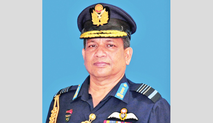 Air chief leaves for UK