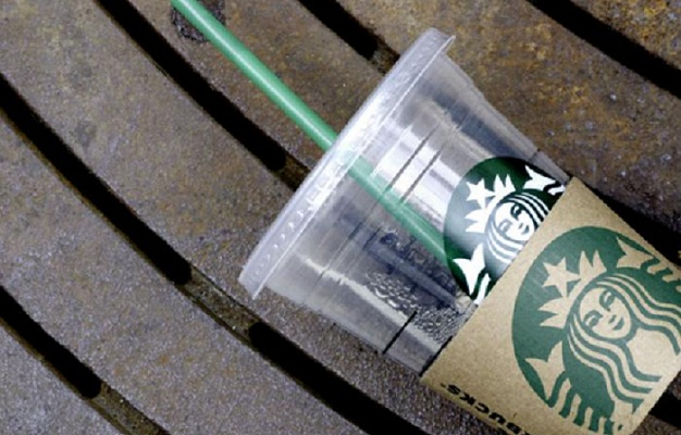 Starbucks to phase out plastic straws by 2020