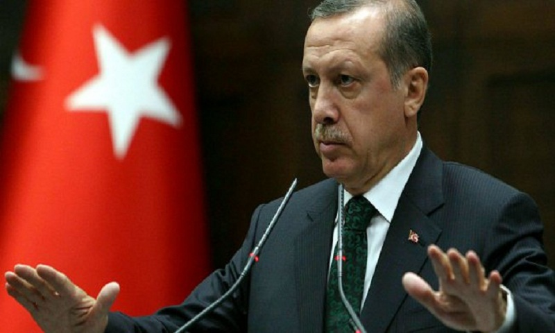 Turkey's Erdogan takes oath of office for new presidential term