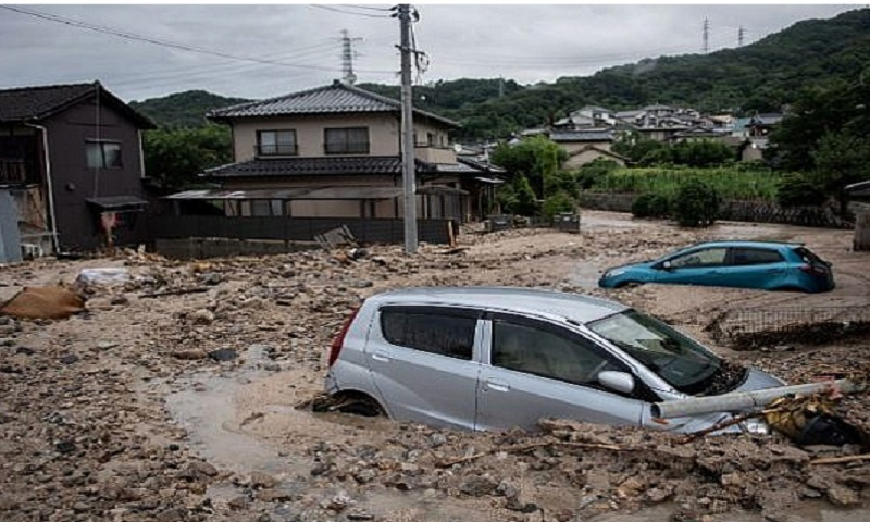 Death toll in wake of torrential rain reaches 148 in Japan, dozens still missing as gov't steps up efforts