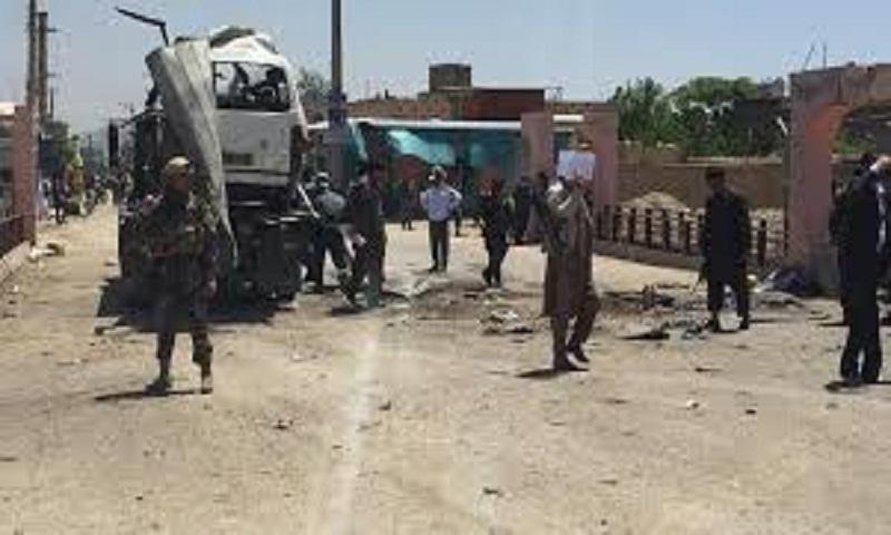 Suicide bomber kills 10 in Afghanistan