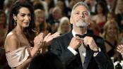 George Clooney reportedly injured after motorbike crash in Sardinia
