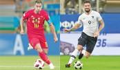 Hazard spells WC danger for France