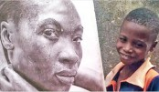 Hyper realistic drawings  by 11-year-old boy