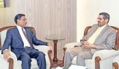 UAE Ambassador Saed Mohammed Al Mahairi meets