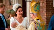 Queen misses Prince Louis' christening