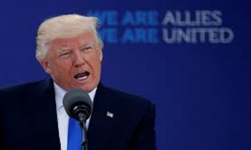 Trump opening summit with wary NATO allies