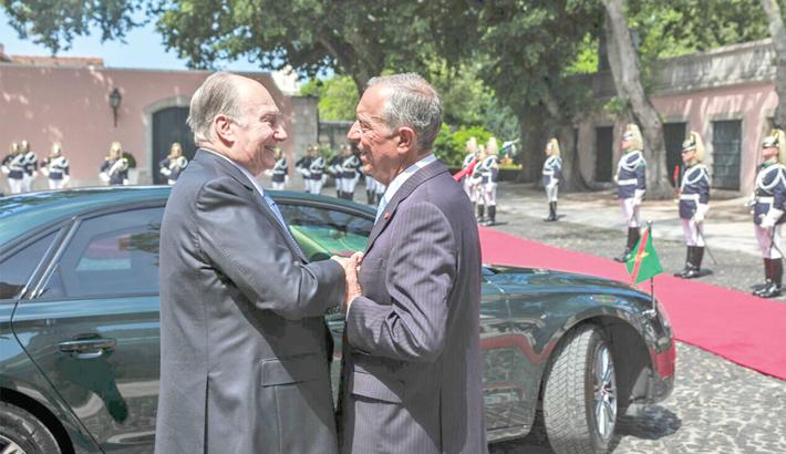 Aga Khan meets Portugal president