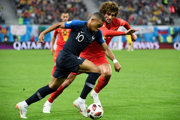 France reach World Cup final beating Belgium 1-0