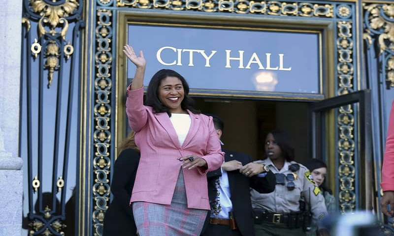 First black female to become mayor of San Francisco